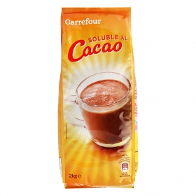 Cacao soluble Carrefour 2 kg.