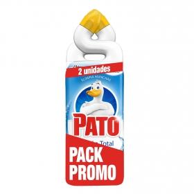 Limpiador de baño 5 en 1 en gel Pato pack de 2 unidades de 750 ml.