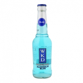 Vodka Wkd blue 27,5 cl.