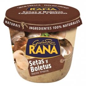 Salsa fresa de setas y boletus Rana tarro 180 g.