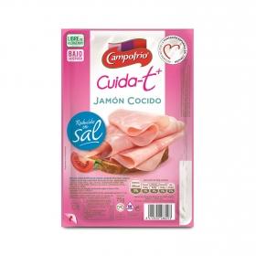 Jamón cocido extrajugoso Cuida-t + sin gluten y sin lactosa