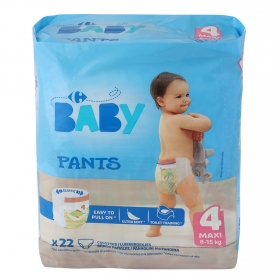 Pants T4 (8-15 kg.) Carrefour Baby 22 ud.