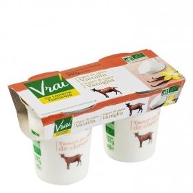 Yogur cabra vainilla