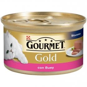 Comida para gatos Mousse con Buey