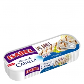 Filetes de caballa natural al grill Isabel 85 g.
