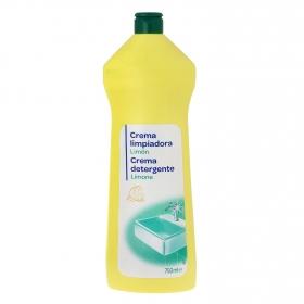Limpiador en crema aroma limón Producto blanco 750 ml.