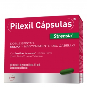 Pilexil relax y mantenimiento del cabello Strensia Lacer 100 ml.
