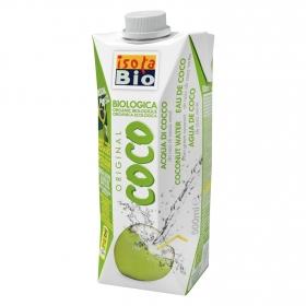 Agua de coco verde ecológica Isola Bio brick