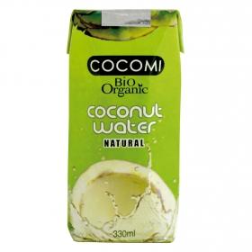 Agua de coco ecológica sin gluten