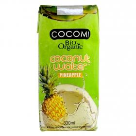 Agua de coco ecológica sin gluten Piña