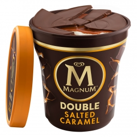 Helado de caramelo con sal Double Magnum