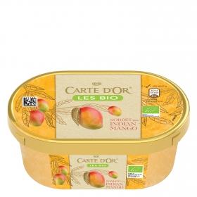 Helado sorbete de mango ecológico Carte D'or 300 g.