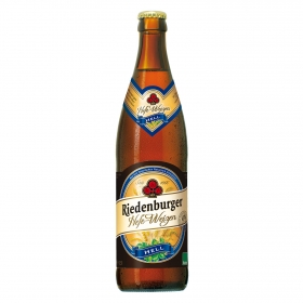 Cerveza ecológica Riedenburger Hefe-Weizen botella 50 cl.