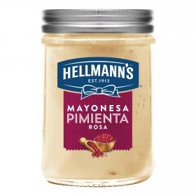 Mayonesa con pimienta rosa Hellmann's tarro 190 ml.