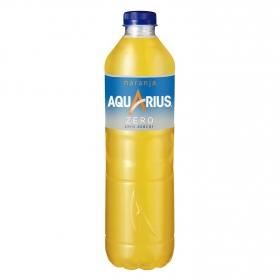 Bebida Isotónica Aquarius zero sabor naranja botella 1,5 l.