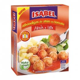 Albóndigas de atun en tomate Isabel 100 g.