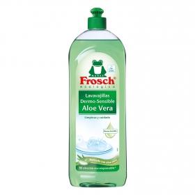 Lavavajillas a mano aroma aloe vera ecológico Frosch 750 ml.