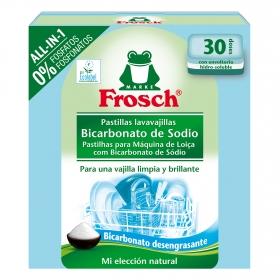 Lavavajillas máquina Todo en 1 en pastillas ecológico Frosch 30 ud.