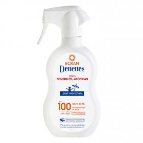 Spray protector solar FP 100 para pieles sensibles y atópicas