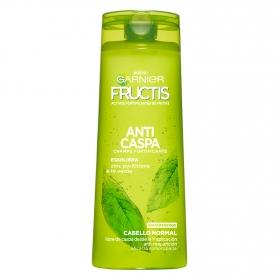 Champú fortificante Anticaspa para cabello normal Garnier-Fructis 360 ml.