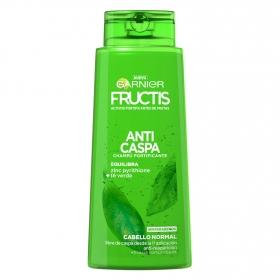Champú fortificante Anticaspa para cabello normal Garnier-Fructis 700 ml.