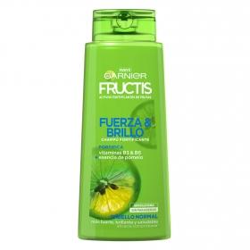Champú fortificante Fuerza y Brillo para cabello normal Garnier-Fructis 700 ml.