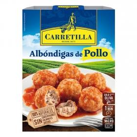 Albóndigas de pollo Carretilla 300 g.