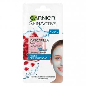 Mascarilla anti-sequedad Granada y Glicerina para pieles deshidratadas