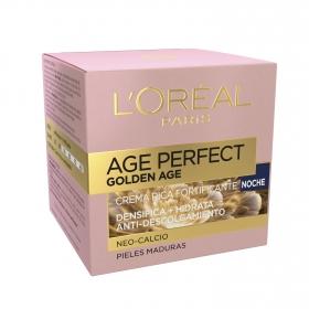 Crema-Mascarilla iluminadora Age Perfect extracto de peonía L'Oréal Skin Expert 50 ml.