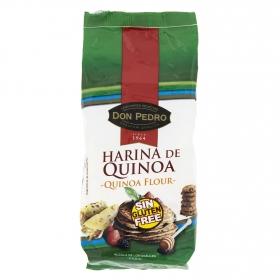 Harina de quinoa Don Pedro sin gluten 400 g.