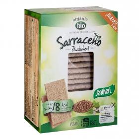Tostadas crujientes con trigo sarraceno ecológicas Santiveri 100 g.