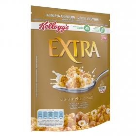 Cereales con avellanas caramelizadas Extra Kellogg's 375 g.