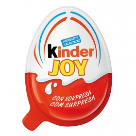 Huevo de chocolate con sorpresa Kinder 21 g.