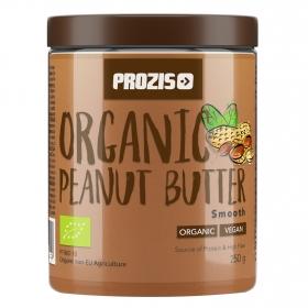 Crema de cacahuete ecológica Prozis 250 g.