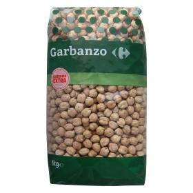 Garbanzo categoría extra Carrefour 1 kg.