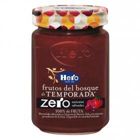 Mermelada de frutos del bosque zero azúcares añadidos Hero 285 g.