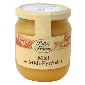 Miel de flores Mediodía Pirineos Reflets de France 375 g.