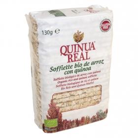 Soffiette de arroz con quinoa sin gluten Bio
