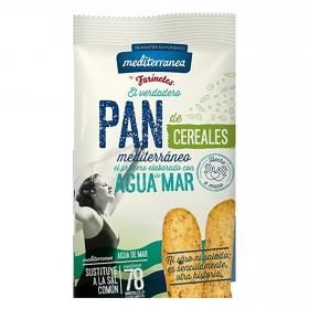 Pan de cereales Mediterránea 90 g.