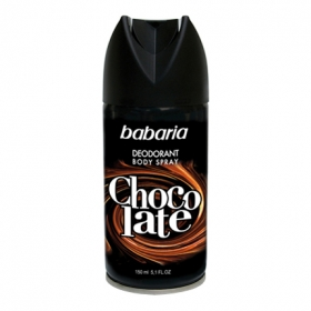 Desodorante en spray chocolate Babaria 150 ml.