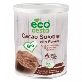 Cacao soluble con panela ecológico Ecocesta 400 g.