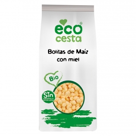 Cereales de maíz con miel ecológicos Ecocesta 400 g.