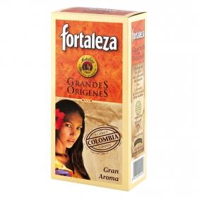Café molido natural Colombia Fortaleza 250 g.