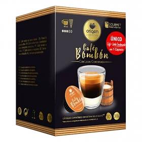 Café bombón con leche condensada en cápsulas Origen & Sensations compatible con Dolce Gusto 10 ud.