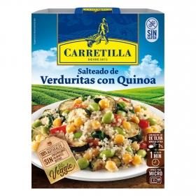 Salteado de verduras con Quinoa Veggie Carretilla sin gluten 250 g.