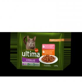 Alimento Gato Húmedo Esterilizado Pouch 4x85