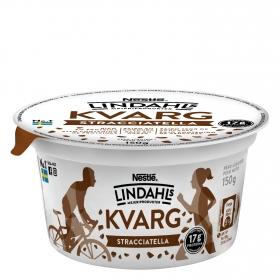Postre lácteo de stracciatella bajo en grasa Nestle Lindahls 150 g.