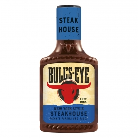 Salsa barbacoa steak house Bull's Eye botella 300 ml.