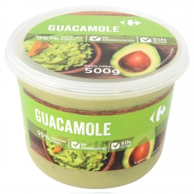 Guacamole Carrefour tarrina 500 g