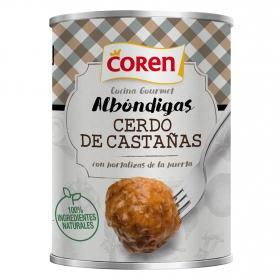 Albóndigas de cerdo y hortalizas Coren 425 g.
